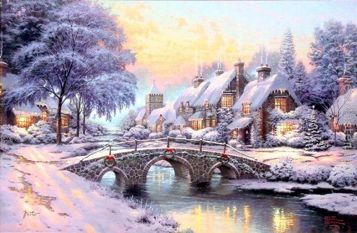 Thomas Kinkade's Christmas Cottage with Jared Padalecki,. One Magic Christmas - Pictures, Photos & Images - IMDb One Magic Christmas. In loc sa ajunga pe.