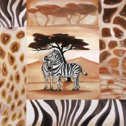 Animals of the Veldt - Zebras