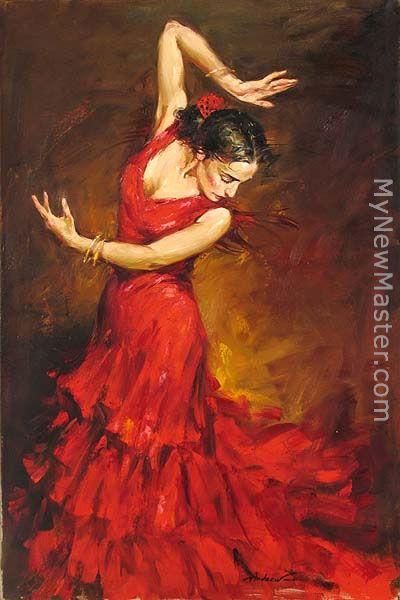 Andrew Atroshenko Dance Painting
