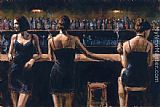 Study For 3 Girls in Bar
