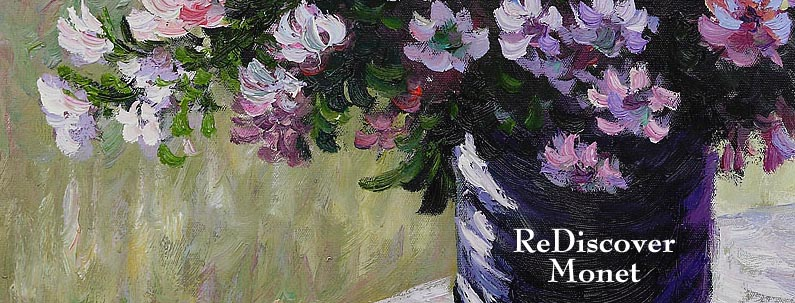 Claude Monet Oil Paintings - the father of Impressionist Art.
